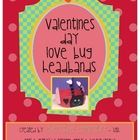 Valentine&#039;s Day Love Bug Headband Craft