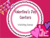 Valentine's Day Matching Games