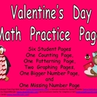 Valentine's Day Math Activities for Kindergarten