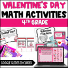 Valentine's Day Math Centers {4th Grade Common Core Aligned}