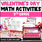Valentine's Day Math Centers {5th Grade Common Core Aligned}
