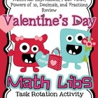 Valentine's Day Activity for Big Kids *Math Libs*