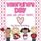 Valentine&#039;s Day Math &amp; Literacy Centers