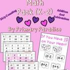 Valentine&#039;s Day Math Pack (K-2)