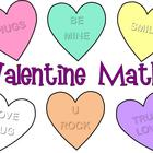 Valentine's Day Math Sort and Graph Activity
