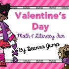 Valentine&#039;s Day Math and Literacy Fun