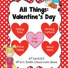 Valentine&#039;s Day - Math and Literacy Lessons FS