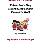 Valentine&#039;s Day Math and Literacy Unit