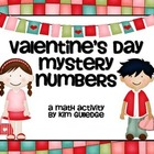 Valentine&#039;s Day Mystery Number - Math Problem Solving Activity