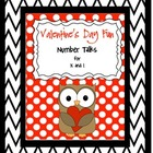 Valentine&#039;s Day Number Talks for Grades K - 1