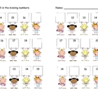 Valentines Day Ordering Numbers Math Center