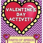 Valentine&#039;s Day Parts of Speech Activity