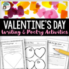 Valentine's Day - Poetry / Writing Worksheets & Writing Paper