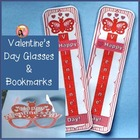 Valentines Day Reading Gadgets - Reading motivation and Craft