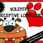 Valentine&#039;s Day Receptive Language Packet