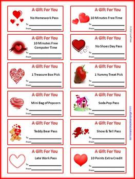 Valentine's Day Reward Coupons