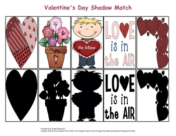 Valentine's Day Shadow Match