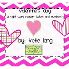 Valentine's Day Sight Word Readers