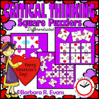 Valentine&#039;s Day Square Puzzlers
