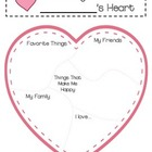 Valentine&#039;s Day - The Many Pieces of My Heart Writing Temp