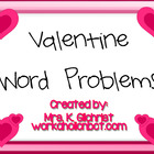 Valentine's Day Themed Math Word Problems Promethean Flipc