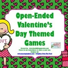 Valentine&#039;s Day Themed Open Ended FREEBIE games