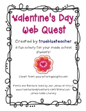 Valentine's Day Web Quest for Middle Years