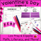 Valentine&#039;s Day Worksheets and Activities for Primary Grades