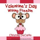 Valentine's Day Writing Freebie