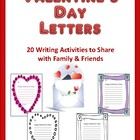 Valentine's Day Writings: A Writing Activity to Share