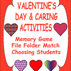 Valentine&#039;s Day and Caring Activities for Early Learners