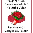 Valentine&#039;s Day in Spain - Da de la Rosa y el Libro Vide