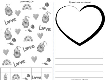 Valentine's Fun Booklet for Students