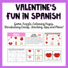 Valentine&#039;s Fun in Spanish