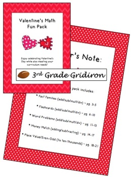 Valentine's Math Fun Pack!