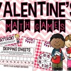 Valentine's Math Games FREEBIE