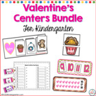 Valentines Math and Literacy Center Bundled