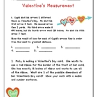 Valentine's Measurement