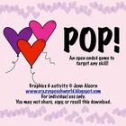 Valentine's POP!  {An Open Ended Game}