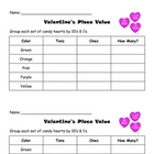 Valentine&#039;s Place Value
