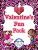 Valentines Fun Pack ~ Primary Grades ~ Math and Language Arts