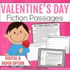 Valentine&#039;s Reading Comprehension Pack