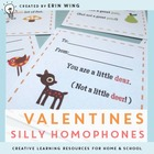 Valentines: Silly Homophones &amp; Flying Friends