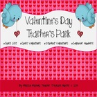 Valentine's Teacher Pack - Candy bar wrappers, valentine's