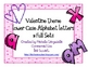 Valentine's Themed Lower Case Alphabet Letters (2 Full Sets)