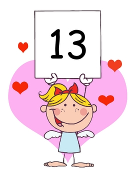 Valentine's Whole Group Activity - Number Order