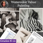 Value Painting - Watercolor Lesson
