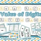 Value of Digit Place Value Relay Race Review Game