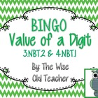 Value of a Digit Bingo PPT with 26 Bingo Cards 3.NBT.2 & 4