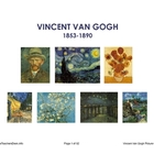 Van Gogh Picture Cards